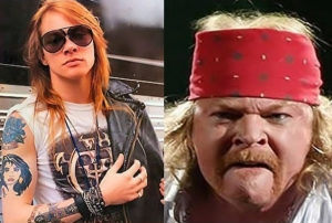 [Articulo} GUNS N' ROSES: REALIDADES Y EXPECTATIVAS. Axl-rose-then-now