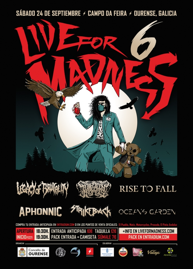 CARTEL - Live For Madness Metal Fest 2016