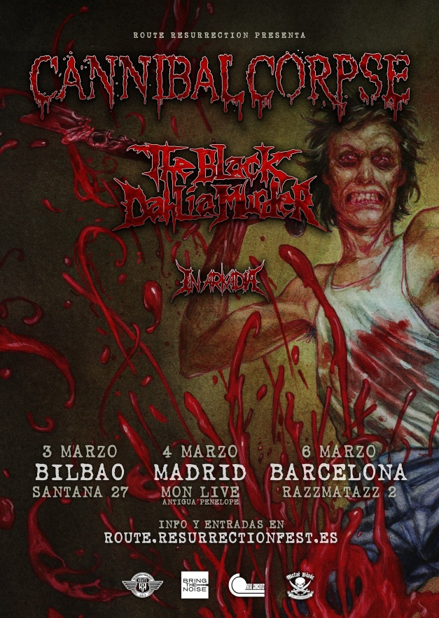 Route-Resurrection-2018-Cannibal-Corpse-The-Black-Dahlia-Murder-Poster