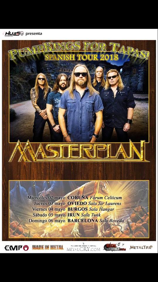 masterplan spanish tour