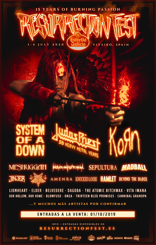 RESURRECTION FEST AVANCE